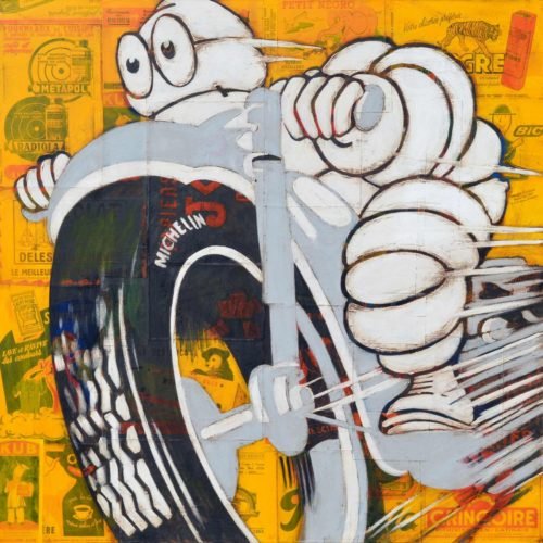 michelin-man-on-a-grey-motorcycle